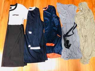 Plus size/maternity clothes >10 pcs
