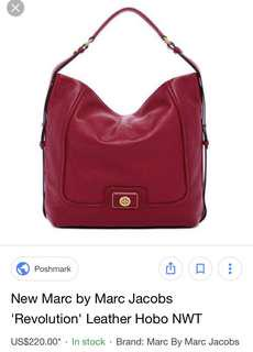 New Marc by Marc Jacobs 'Revolution' Leather HoboNew Marc by Marc Jacobs 'Revolution' Leather Hobo