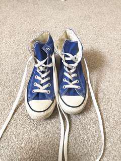 converse - blue