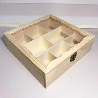 Wooden Display Case / Compartment