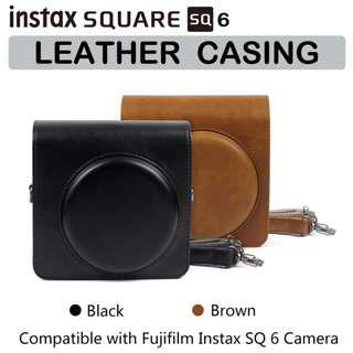 Fujifilm Instax Square SQ6 SQ 6 Camera Leather Casing Cover