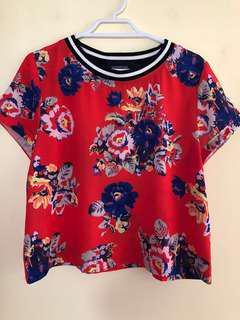 MINKPINK Floral T-Shirt