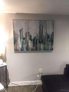 Painting of nyc