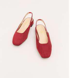 清新氣質小紅鞋