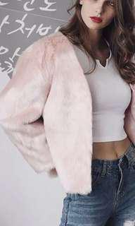 Soft Faux fur coat 💓