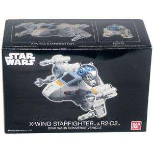 Bandai converge star wars r2d2 and starfighter