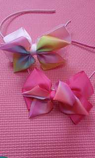 jojo siwa inspired bow head band