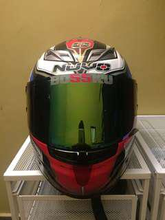 Nuvo sp2 full face helmet Size L
