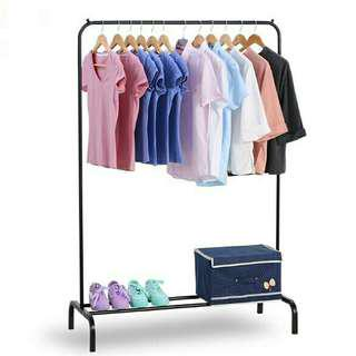 (FREE POSTAGE) Folding Single Rod Clothing Hanger Rack #augpayday