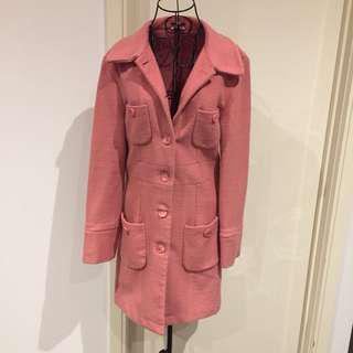 (12) Pink Long Jacket
