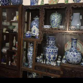 Old Chinese Porcelain Ware From Collector Giving Up?Call Mr Tan For Viewing