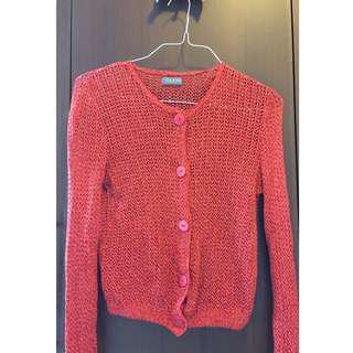 Pink Net Sweater
