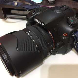 🚚 Sony A57+2顆鏡頭 誠可議價 CANON NIKON 新手入門可參考 非A55 A7 A9 A77 A99