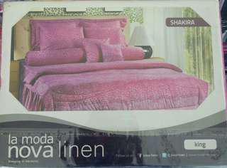 Promo sprei Nova Linen King 180x200 cm
