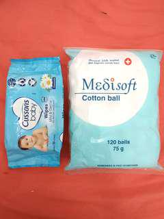 Paket 2 baby cleaning (medisoft + cussons)