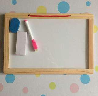 Magnetic Wooden Writing Board