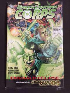 Green Lantern Corps Emerald Eclipse