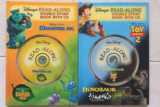 Read Along - Double Story Book With CD (4 books)