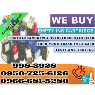 Expired Brand new Ink and Toner Buyer of Empty Ink Cartridges and Toner