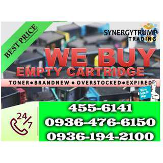 Highest Offer Brand new Expired Buyer of Empty Ink Cartridges and Toner