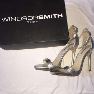 Silver heels - Windsor Smith *REDUCED*