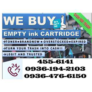 no1 Trusted Company Highest Offer Accredited  Buyer of Empty Ink Cartridges and Toner