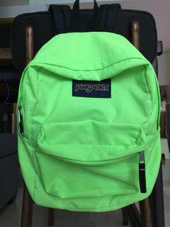 Jansport Backpack Neon Green