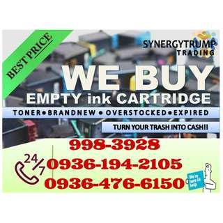 hIGHEST bUYING pRICE bRAND NEW eXPIRED bUYER OF eMPTY INK CARTRIDGES AND TONER