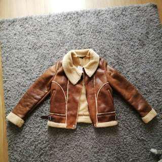 Zara women thick jacket