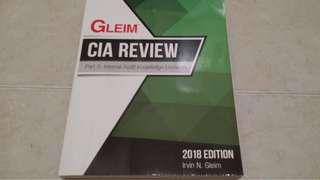 GLEIM CIA Part 3 2018 or 2019 Edition Textbook