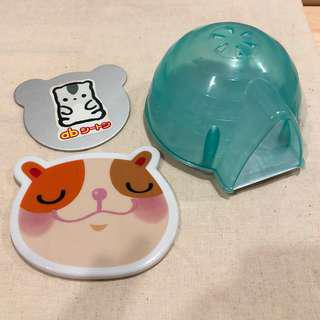 Cooling pad for hamster