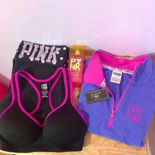 VS PINK Yoga Bundle