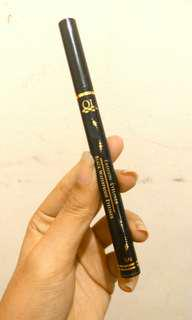 QL Black Waterproof Fashion Eyeliner Spidol Pen | PRELOVED 💜