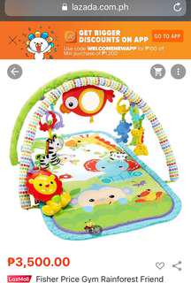 fisher price play mat and musical gym