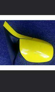 1 X Set New And Good Condition Yellow Suzuki Swift Side Mirrors 1 price for both items