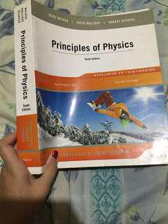 Principles of Physics 10th edition