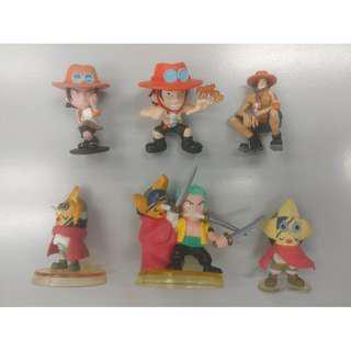 [突破160正評] 海賊王 One Piece - 艾斯 Ace / 索隆 Zoro / 烏索普 狙擊王 - 扭蛋 盒蛋 食玩 (多買多平)