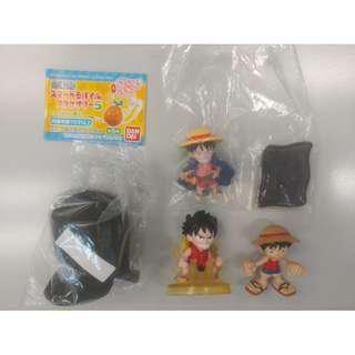 [突破160正評] 海賊王 One Piece - 路飛 Luffy / 薩波 Sabo - 扭蛋 盒蛋 食玩 (多買多平)