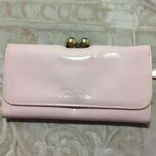 Ted Baker London Long Patent Wallet