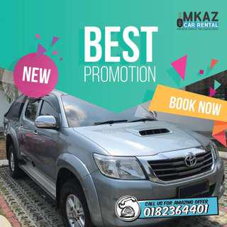 Toyota Hilux for RENT🔥