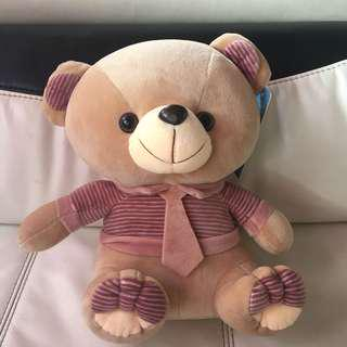 New With Tag Cuddly Brown Bear