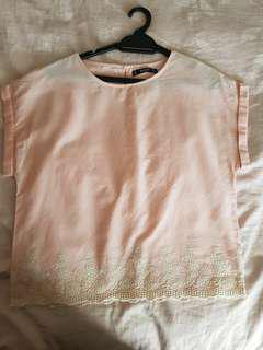 MNG pink top size XS