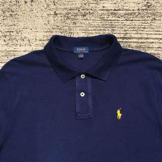 Ralph Lauren long sleeve polo tee like new