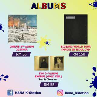 Promotion Albums (Sealed & Ready Stock)