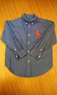 🚚 Polo 藍色襯衫