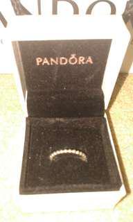 Pandora eternal clouds ring size 6