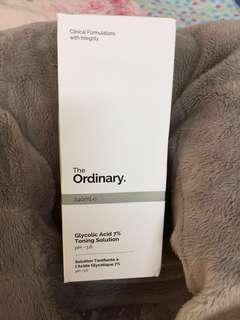 [Price Reduced] Glycolic Acid 7% Toning Solution