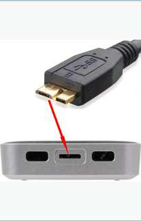 Cable for External hard drive Data Sync Cable USB 3.0 To Micro B 45 cm for WD & Seagate portable hard drive disk