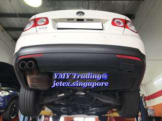 #jetexexhausts_vw. #jetexexhaustsasialink. Jetta 2.0GLI in the house and upgraded Jetex LTA approval Twin tip catback system.