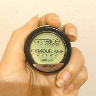Catrice Camouflage Cream Green Anti Red Concealer | PRELOVED 💜